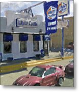 The White Castle Metal Print by Russell Pierce