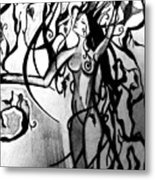 The Woman Who Became A Tree Metal Print by Cat Jackson