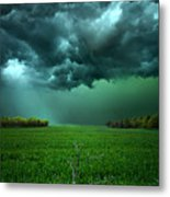 There Came A Wind Metal Print by Phil Koch