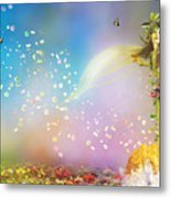 They Call Me Spring Metal Print by Mary Hood