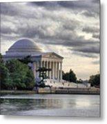 Thomas Jefferson Memorial Metal Print by Gene Sizemore