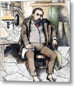 Thomas Nast (1840-1902) Metal Print by Granger