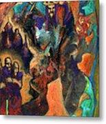Three Dwarves Metal Print by David Matthews
