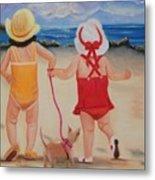 Three For The Beach Metal Print by Joni McPherson