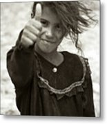 Thumbs Up Metal Print by Eric Foltz