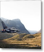Thunder In The Glen Metal Print by Pat Speirs