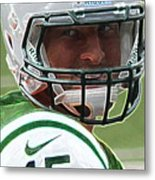 Tim Tebow Art Deco - New York Jets -  Metal Print by Lee Dos Santos