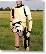 Tim Tebow Stormtrooper Metal Print by Paul Van Scott
