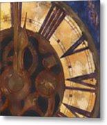 Time Askew Metal Print by Barb Pearson