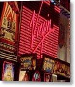 Times Square Night Metal Print by Debbi Granruth
