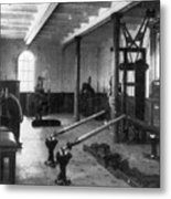Titanic: Exercise Room, 1912 Metal Print by Granger