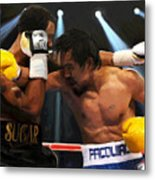 Title Bout Metal Print by Snake Jagger