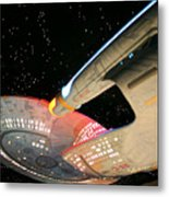 To Boldly Go Metal Print by Kristin Elmquist