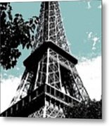 Tour Eiffel Metal Print by Juergen Weiss