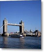 Tower Bridge, London Metal Print by Lothar Schulz