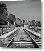 Tracks 2 Metal Print by Matthew Angelo