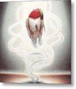 Transcendent Flight Metal Print by Amy S Turner