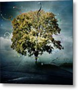 Tree Of Hope Metal Print by Mary Hood