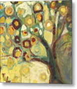 Tree Of Life In Autumn Metal Print by Jennifer Lommers