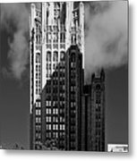 Tribune Tower 435 North Michigan Avenue Chicago Metal Print by Christine Till