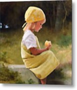 Tribute To Bouguereau  Metal Print by Bob Nolin