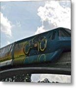 Tron Tram Metal Print by Carol  Bradley