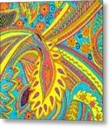 Tropical Sizzle Metal Print by Ramneek Narang