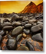 Troublesome Sky Metal Print by Mark Leader