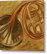 Trumpet Metal Print by Rashmi Rao
