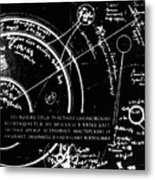 Tsiolkovsky's Works On Space Conquest Metal Print by Ria Novosti