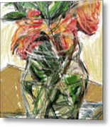 Tulips Metal Print by Russell Pierce