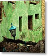 Tunnel Lamp Metal Print by Mexicolors Art Photography