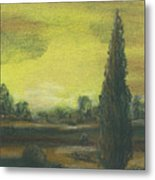Tuscan Dusk 1 Metal Print by Shelby Kube