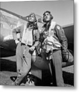 Tuskegee Airmen Metal Print by War Is Hell Store