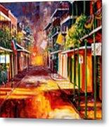 Twilight In New Orleans Metal Print by Diane Millsap