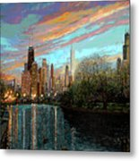 Twilight Serenity II Metal Print by Doug Kreuger