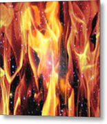 Twin Flames Metal Print by Dedric Artlove