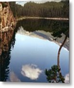 Ultimate Reflection Metal Print by Shirley Sirois