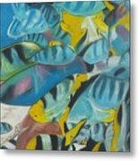 Under The Sea Metal Print by Demitrius Roberts
