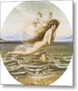 Under The Sea Metal Print by Joseph Noel Paton