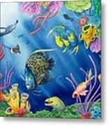 Undersea Garden Metal Print by Gale Cochran-Smith