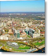University City Philadelphia Pennsylvania Metal Print by Duncan Pearson
