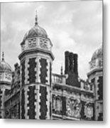 University Of Pennsylvania Quadrangle Towers Metal Print by University Icons