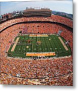 University Of Tennessee Neyland Stadium Metal Print by University of Tennessee Athletics