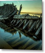 Unknown Shipwreck Metal Print by Jakub Sisak