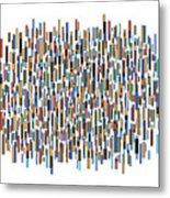 Urban Abstract Metal Print by Frank Tschakert