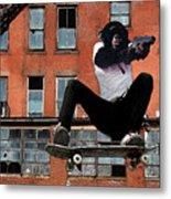 Urban Police Metal Print by Monday Beam