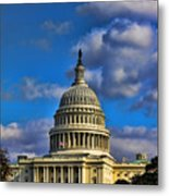 Us Capital  Metal Print by Brian Governale