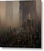 Utherworlds Cohabitations Metal Print by Philip Straub
