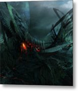 Utherworlds In Search Of Metal Print by Philip Straub